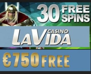 La Vida Casino free spins