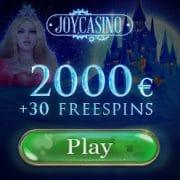 Joy Casino free spins offer