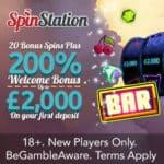 Spin Station Casino £/€/$3000 high roller bonus   100 bonus spins