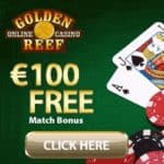 Golden Reef Casino | 100 free spins and £€$ 100 free chip bonus