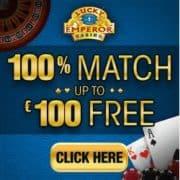 Lucky Emperor Casino banner 250x250