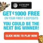 Luxury Casino | 325% up to £€$ 1000 Bonus and Slot Free Spins