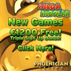 Phoenician Casino | 70% up to £€$ 1200 Bonus   Free Spins Games