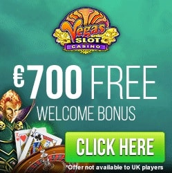 Vegas Slot Casino | £€$ 210 welcome bonus and FREE SPINS!