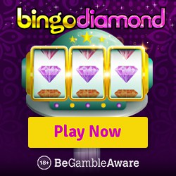 Bingo Diamond Casino 100 free spins and 400% welcome bonus