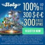 Sloty Casino 200% up to €1,500 welcome bonus   300 gratis free spins