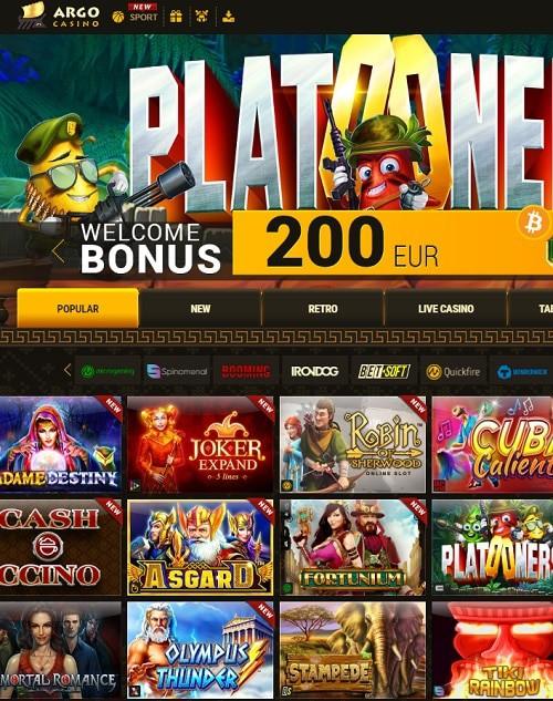 Get 100% bonus and 20 exclusive spins