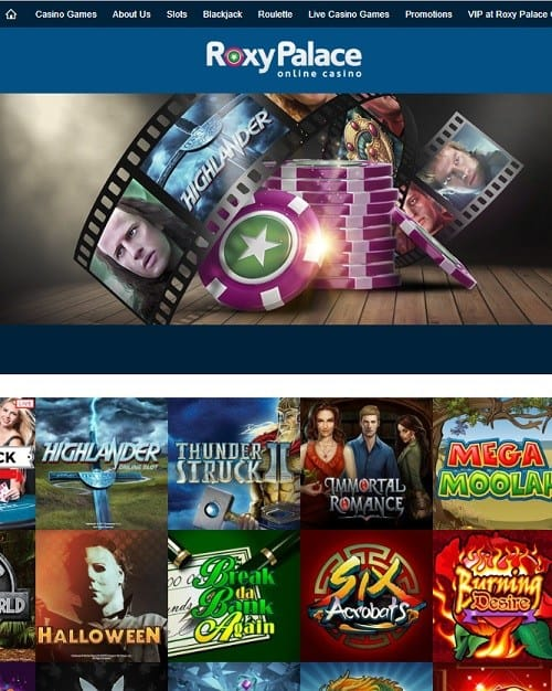 Roxy Palace Casino Online Review