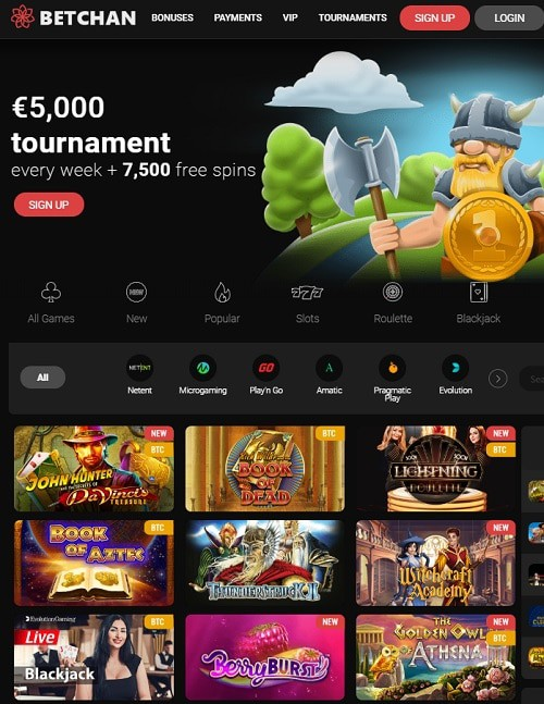 Betchan Casino Review