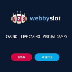 Webby Slot Casino - 100 free spins and $200 free cash bonus on pokies