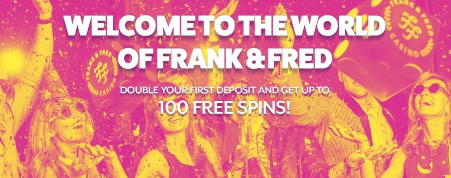 Frank & Fred exclusive promotion