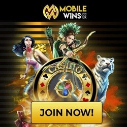 Mobile Wins Casino Review: €800 gratis and free spins bonuses