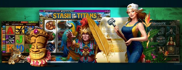 Play on slots for free!