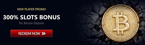 300% bonus on bitcoin deposit