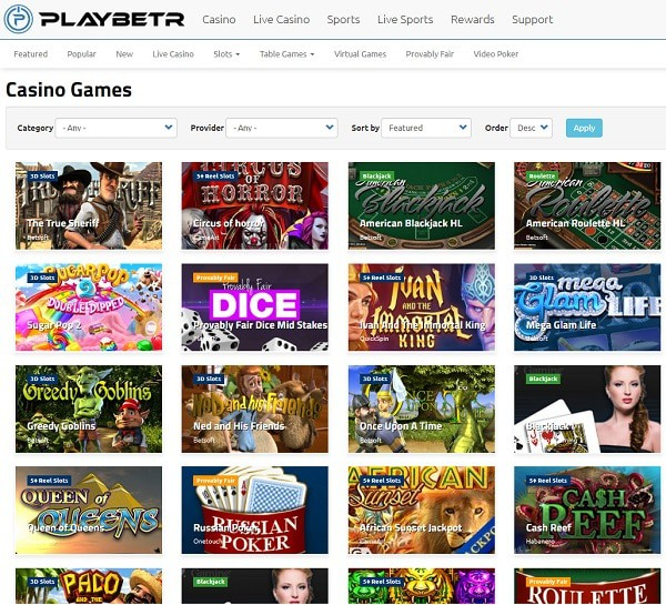 Playbetr register and login