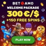 Betamo Casino €/$2000 high roller bonus code: LARGE