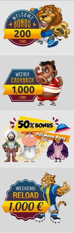 Zig Zag 777 Casino exclusive promotions and bonuses with free spins