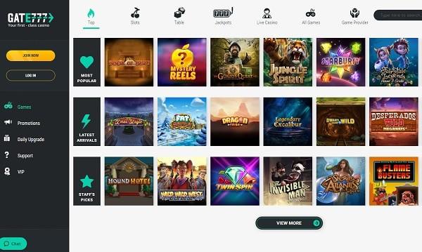 Gate Casino free spins