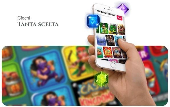 Voglia di Vincere Microgaming Casino Games