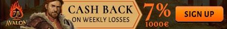 7% bonus cashback