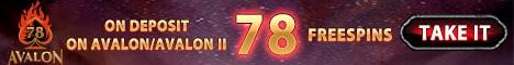 78 exclusive free spins bonus