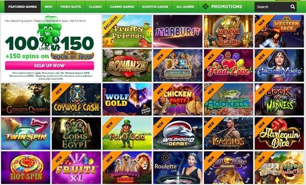 Register and get free bonus to CasinoLuck.com