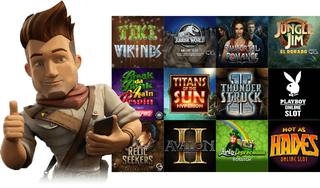 50 free spins on Microgaming slot games