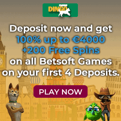 Get €/$4,000 free bonus and 200 free spins on registration!