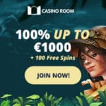 Casino Room 100 exclusive free spins bonus on registration