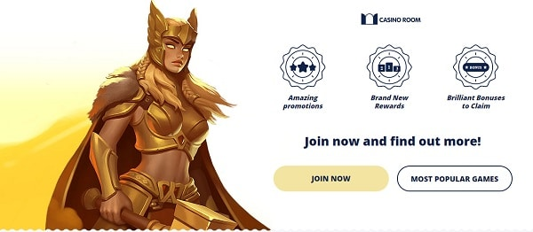 Create your account at CasinoRoom.com and get free bonus!