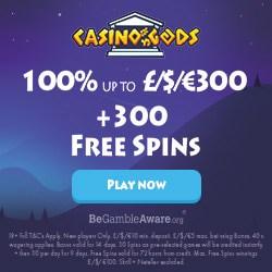 300 free spins + $1500 bonus