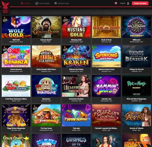 Royal Rabbit Casino free spins and no deposit bonuses