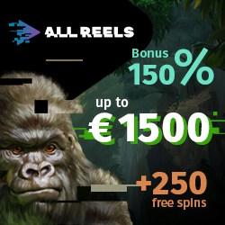 Exclusive bonus code for AllReels.com Casino Bonus