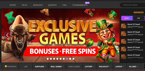Exclusive Games and Free Spins