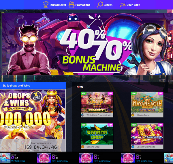 Play Now For Big Jackpots!