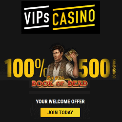 VIPS 500 Free Spins