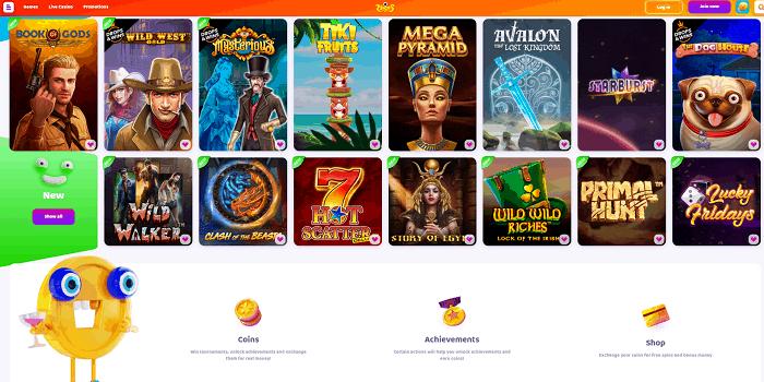 Free Play Games and Slots