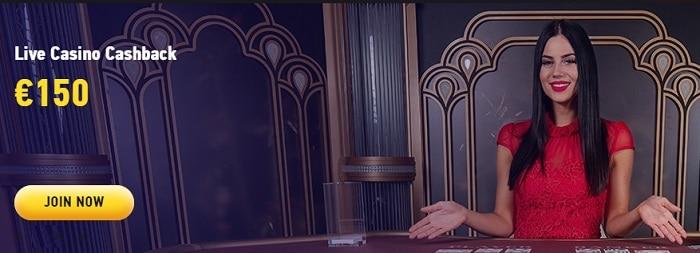 150 EUR Real Dealer Casino