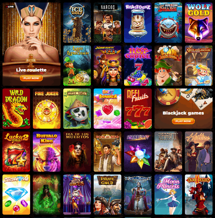 AmunRa Casino Online Review