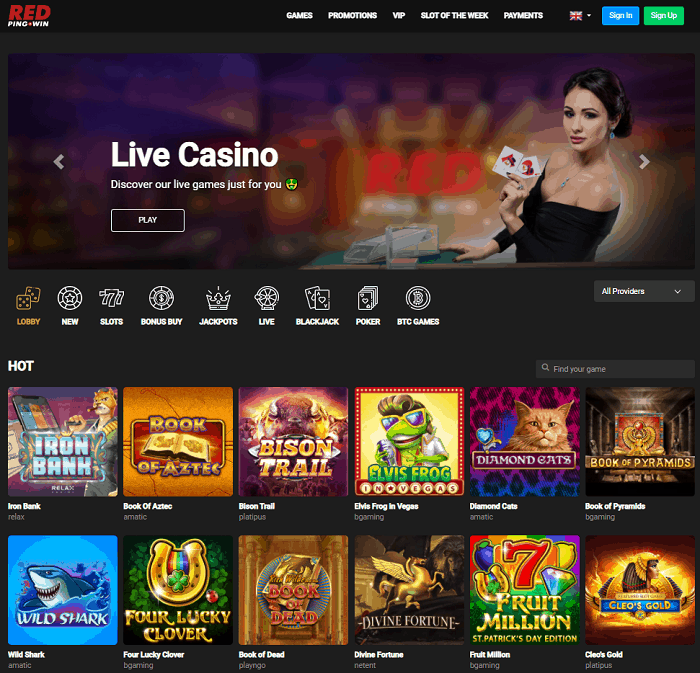 RedPing Casino Review