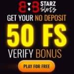 Get 50 free spins no deposit bonus code to 888starz Casino!