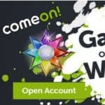 ComeOn Casino Welcome Bonus: $1500 and 300 free spins!