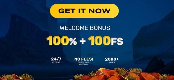 RocketPlay Welcome Bonus