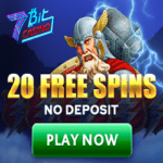 7Bit Casino Review 20 free spins bonus no deposit required
